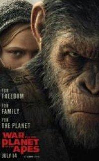 Maymunlar Cehennemi 3 Savaş izle 720P HD Kalite